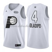 Indiana Pacers Basketball Trikots Victor Oladipo 4# White 2018 All Star Game Swingman..
