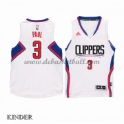 Basketball Trikot Kinder Los Angeles Clippers 2015-16 Chris Paul 3# Home Swingman..