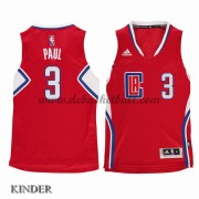 Basketball Trikot Kinder Los Angeles Clippers 2015-16 Chris Paul 3# Road Swingman..