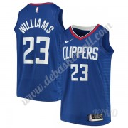 Basketball Trikot Kinder Los Angeles Clippers 2019-20 Lou Williams 23# Blau Icon Edition Swingman..
