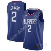 Basketball Trikot Kinder Los Angeles Clippers 2019-20 Kawhi Leonard 2# Blau Icon Edition Swingman