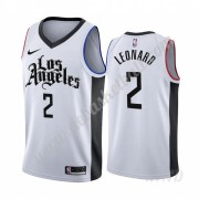 Basketball Trikot Kinder Los Angeles Clippers 2019-20 Kawhi Leonard 2# Weiß City Edition Swingman..