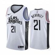 Basketball Trikot Kinder Los Angeles Clippers 2019-20 Patrick Beverley 21# Weiß City Edition Swingma..