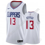 Basketball Trikot Kinder Los Angeles Clippers 2019-20 Paul George 13# Weiß Association Edition Swing..