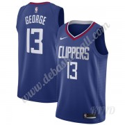 Basketball Trikot Kinder Los Angeles Clippers 2019-20 Paul George 13# Blau Icon Edition Swingman..