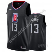 Basketball Trikot Kinder Los Angeles Clippers 2019-20 Paul George 13# Schwarz Statement Edition Swin..
