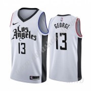 Basketball Trikot Kinder Los Angeles Clippers 2019-20 Paul George 13# Weiß City Edition Swingman..