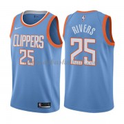 Los Angeles Clippers Basketball Trikots 2018 Austin Rivers 25# City Swingman..