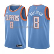 Los Angeles Clippers Basketball Trikots 2018 Danilo Gallinari 8# City Swingman..