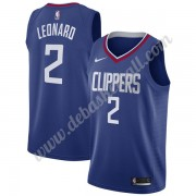 Los Angeles Clippers Basketball Trikots NBA 2019-20 Kawhi Leonard 2# Blau Icon Edition Swingman..