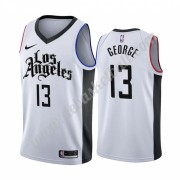 Los Angeles Clippers Basketball Trikots NBA 2019-20 Paul George 13# Weiß City Edition Swingman..