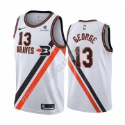 Los Angeles Clippers Basketball Trikots NBA 2019-20 Paul George 13# Weiß Classics Edition Swingman..
