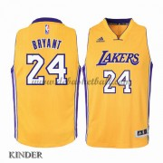 Basketball Trikot Kinder Los Angeles Lakers 2015-16 Kobe Bryant 24# Gold Home Swingman