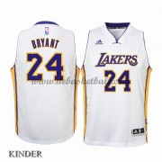 Basketball Trikot Kinder Los Angeles Lakers 2015-16 Kobe Bryant 24# Weiß Home Swingman