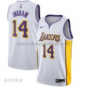 Basketball Trikot Kinder Los Angeles Lakers 2018 Brandon Ingram 14# Home Swingman..