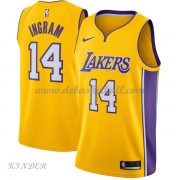Basketball Trikot Kinder Los Angeles Lakers 2018 Brandon Ingram 14# Road Swingman..