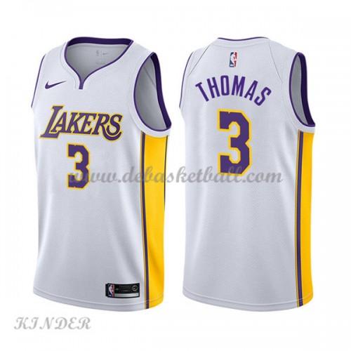 c3bd812ef Basketball Trikot Kinder Los Angeles Lakers 2018 Isaiah Thomas 3  Home  Swingman
