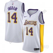 Basketball Trikot Kinder Los Angeles Lakers 2019-20 Brandon Ingram 14# Weiß Association Edition Swin..