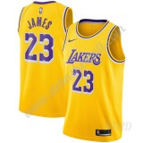 Basketball Trikot Kinder Los Angeles Lakers 2019-20 LeBron James 23# Gold Icon Edition Swingman