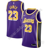 Basketball Trikot Kinder Los Angeles Lakers 2019-20 LeBron James 23# Lila Replica Statement Edition Swingman