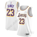 Basketball Trikot Kinder Los Angeles Lakers 2019-20 LeBron James 23# Weiß Association Edition Swingman