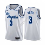 Basketball Trikot Kinder Los Angeles Lakers 2019-20 Anthony Davis 3# Weiß Classics Edition Swingman..
