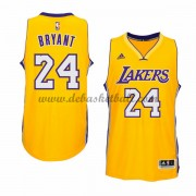 Herren Los Angeles Lakers NBA 2015-16 Kobe Bryant 24# Gold Home Basketball Swingman Trikot