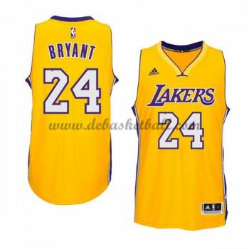 Los Angeles Lakers Basketball Trikots 2015-16 Kobe Bryant 24# Gold Home Trikot Swingman