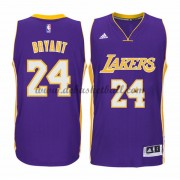 Herren Los Angeles Lakers NBA 2015-16 Kobe Bryant 24# Road Basketball Swingman Trikot