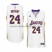 a1cb14a20 Los Angeles Lakers Basketball Trikots 2015-16 Kobe Bryant 24  Weiß Home Trikot  Swingman