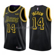 Los Angeles Lakers Basketball Trikots 2018 Brandon Ingram 14# City Swingman..