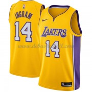 Los Angeles Lakers Basketball Trikots 2018 Brandon Ingram 14# Road Trikot Swingman..