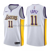 Los Angeles Lakers Basketball Trikots 2018 Brook Lopez 11# Home Trikot Swingman..