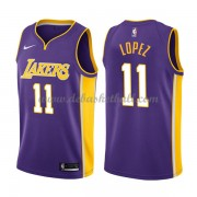 Los Angeles Lakers Basketball Trikots 2018 Brook Lopez 11# Alternate Trikot Swingman..