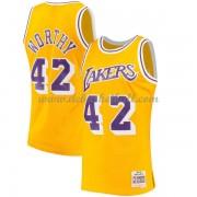 the best attitude 5aa98 437ac Los Angeles Lakers Mens 1984-85 James Worthy 42  Gold Hardwood Classics  Swingman.