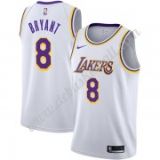 Los Angeles Lakers Basketball Trikots NBA 2019-20 Kobe Bryant 8# Weiß Association Edition Swingman..