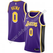 Los Angeles Lakers Basketball Trikots NBA 2019-20 Kyle Kuzma 0# Lila Statement Edition Swingman..