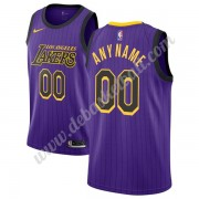 Los Angeles Lakers Basketball Trikots NBA 2019-20 Lila City Edition Swingman..