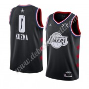 Los Angeles Lakers Basketball Trikots 2019 Kyle Kuzma 0# Schwarz All Star Game Swingman..