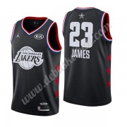 Los Angeles Lakers Basketball Trikots 2019 Lebron James 23# Schwarz All Star Game Swingman..