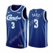 Los Angeles Lakers Basketball Trikots NBA 2019-20 Anthony Davis 3# Blau Classics Edition Swingman..