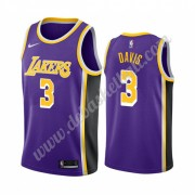 Los Angeles Lakers Basketball Trikots NBA 2019-20 Anthony Davis 3# Lila Statement Edition Swingman..