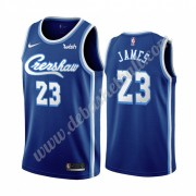 Los Angeles Lakers Basketball Trikots NBA 2019-20 LeBron James 23# Blau Classics Edition Swingman..