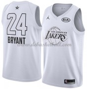 finest selection f4306 4fe60 Los Angeles Lakers Basketball Trikots Kobe Bryant 24  White 2018 All Star  Game Swingman.