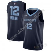 Basketball Trikot Kinder Memphis Grizzlies 2020 Ja Morant 12# Marine Icon Edition Swingman..