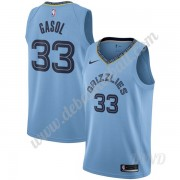 Basketball Trikot Kinder Memphis Grizzlies 2019-20 Marc Gasol 33# Hellblau Statement Edition Swingma..
