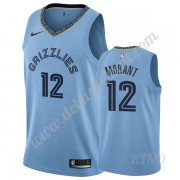 Basketball Trikot Kinder Memphis Grizzlies 2019-20 Ja Morant 12# Hellblau Statement Edition Swingman..
