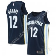 Basketball Trikot Kinder Memphis Grizzlies 2019-20 Ja Morant 12# Marine Icon Edition Swingman..