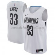 Memphis Grizzlies Basketball Trikots 2018 Marc Gasol 33# City Swingman..
