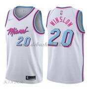 Basketball Trikot Kinder Miami Heat 2018 Justise Winslow 20# City Swingman